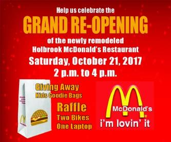 McDonald's Re-Opening