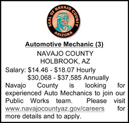 Navajo County Help Wanted